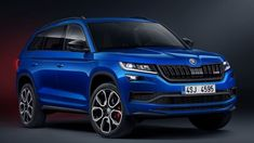 2019 Skoda Kodiaq RS Leaked Ahead Of Tomorrow's Paris Reveal The fastest seven-seat SUV at the Nurburgring has arrived. After a painstakingly long teaser campaign, the Skoda Kodiaq RS finally shows. Crossover Suv, Volkswagen Group, Supersport, Car Manufacturers, Diesel Engine, Alloy Wheel, Car Car, Dream Cars, Super Cars