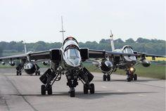 SEPECAT Jaguar GR3A ground attack aircraft,