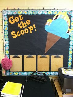 What a fun bulletin board idea! This board features CTP's Dots on Turquoise Playful Paisley Border: http://www.creativeteaching.com/p-4396-playful-paisley-border.aspx