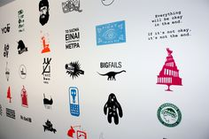 Logotheraphy Project by Big Horror Athens , via Behance