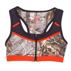 Realtree Girl Rorie Camo Sportwear Bra Top
