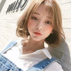 Read from the story ulzzang girls Uzzlang Girl, Korean Beauty, Asian Beauty, Short Fille, Cute Korean Girl, Girl Short Hair, Short Bob Hairstyles, Beautiful Asian Girls, Aesthetic Girl