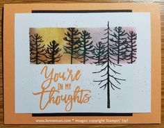 Dena Lenneman, Stampin' Up! Demonstrator: Thoughtful Branches With Sponge Daubers