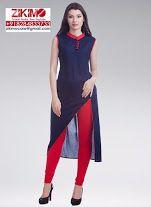 Full Stitched Kurti With Legging Set