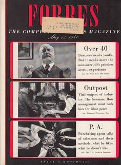 May 15 1940 Forbes, The Complete Business Magazine Industry Finance Articles