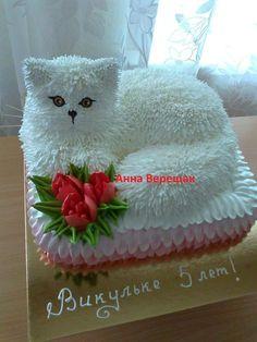 ki firse WhatsApp pe na na Bacha Creative Cake Decorating, Cake Decorating Techniques, Creative Cakes, Pretty Cakes, Cute Cakes, Beautiful Cakes, Dog Cakes, Cupcake Cakes, Kitten Cake