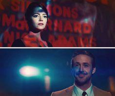 Ryan Gosling, Emma Stone, La La Land, 2016