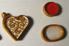 Making picture frames from polymer clay for minis - Russian