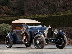 1929 Bugatti Type 44 4-seat Open Tourer