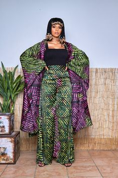 African Clothing Stores, African Print Clothing, African Print Dresses, African Print Fashion, Africa Fashion, African Fashion Dresses, African Dress, African Prints, Kaftan Designs