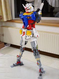超強自製LEGO高達 日本高手個半月完成   GameOver HK