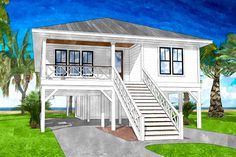 The Bay Tree Cottage is offered by SDC House Plans. View more Cottage House Plans on the SDC website. Beach Cottage Style, Beach Cottage Decor, Coastal Cottage, Coastal Homes, Coastal Style, Coastal Decor, Coastal Entryway, Coastal Farmhouse, Modern Coastal