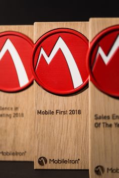 Created these lovely awards for mobile iron. Bespoke Design, Custom Design, Trophy Maker, 3d Printing Machine, Custom Trophies, Trophy Design, Display Advertising, 3d Prints, Sketch Design