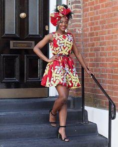Amina Dress.  www.grass-fields.com  #africanfashion #africanprint #africanskirt #africandress #headwrap #africangirl #africanstyle #africanbeauty #africanqueen #blackqueen #africanfabric #africandesign #afro #naturalhair #afrogirl www.grass-fields.com