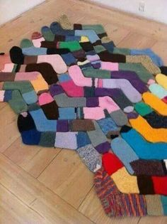 Ha! Something to do with all those lost sock mates.