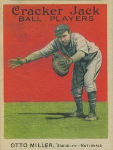 1915 Cracker Jack (E145) #53 Otto Miller Front