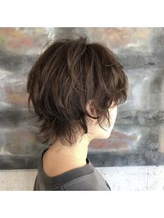 Pin on ヘアスタイル Shaggy Bob Haircut, Pixie Haircut Styles, Pixie Haircut For Thick Hair, Cut My Hair, Shot Hair Styles, Hair Styles 2016, Curly Hair Styles, Tomboy Hairstyles, Pretty Hairstyles