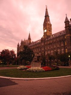 Georgetown University in Washington, DC. My school and home is so beautiful.