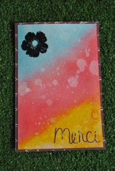 mamelie'scrap: Deux cartes tout en dégradé