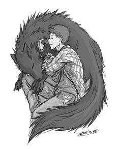 screwthesenames: My first Teen Wolf fanart… and yeah it's a sterek one… > v < btw, I can't draw a wolfs head and.. this is so messy DX maybe I'll get back and work on this more.. another day..