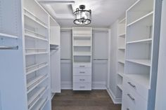 Elegant and spacious walk-in closet! Visit http://crimsonroseliving.com for more photos from our Luxury homes!