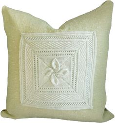 Handwoven wool and floral pillows are our go to pillows for cozy hugs. Unique pillows by Interior Nature.