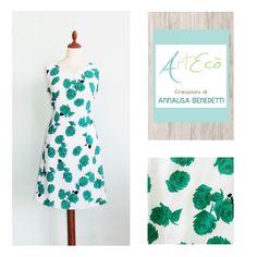 Style & hand made by ArtEcò Creazioni di Annalisa Benedetti 100% made in Italy #fashion #style #cut #sewing #artecòcreazioni #dress