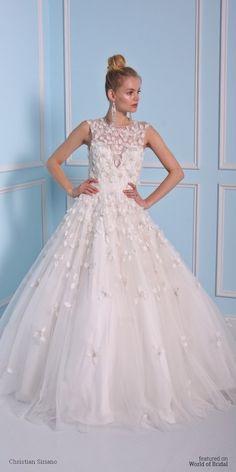 Christian Siriano 2016 Wedding Dress