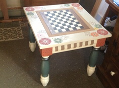 Since retiring I am painting and refurbishing furniture.  Good Will, Habitat and yard sales are great places to find unique furniture in need of TLC.