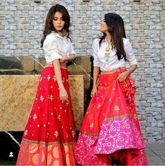 New Fashion Ilustration Indian Wear Lehenga Choli Anarkali Suits Ideas Indian Fashion Dresses, Indian Gowns Dresses, Indian Designer Outfits, Indian Skirt, Dress Indian Style, Indian Wear, Stylish Dress Designs, Stylish Dresses, Stylish Outfits