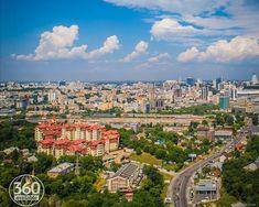 Kiev cityscape. drone photografy Paris Skyline, Travel, Viajes, Destinations, Traveling, Trips