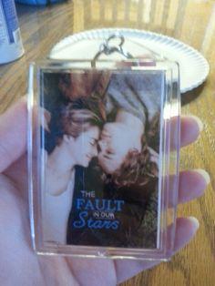 Keychain Tfios, Polaroid Film, The Fault In Our Stars