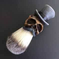 Hey, I found this really awesome Etsy listing at https://www.etsy.com/listing/257412020/tophat-shaving-brush-limited-gray