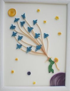 Quilled+Paper+Art+The+Little+Prince+Quilling+by+SoulfulQuilling,+€43.00