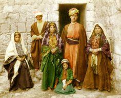 Ramallah-رام الله: RAMALLAH - Ramallah family, late 19th, early 20th c.