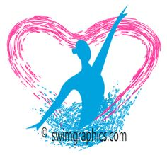 Synchronized Swimming Solo Clipart: Page Six.