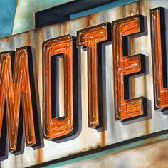 portfolio of oil paintings by Kellie Talbot: American artifacts, typography, rust, cemeteries, signage and architecture. Photography Illustration, Illustration Art, Sign Maker, Ad Art, Typography Quotes, Art Music, Painting Inspiration, Artsy Fartsy, Talbots
