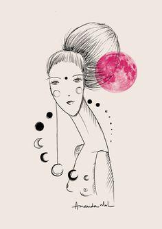 Fases da lua - Amanda Mol   Loja