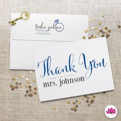 Bridal Shower Thank You Cards! Thank you from the future Mrs!