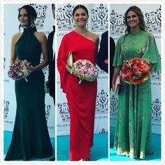 My edit- #NEW Swedish Royal ladies at the Polar Music Prize today ❤❤ Credit for pics