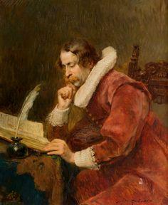 The cavalier scholar. Alex de Andreis (1880-1929), Belgian painter