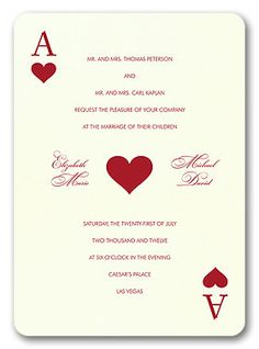 Casino themed party invitations uk