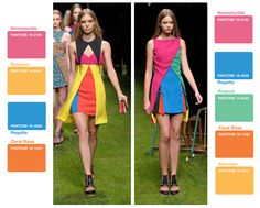 Color blocking, color blocking, color blocking.  Top spring trend.