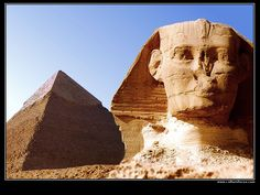 Pyramids at Giza and the Sphinx