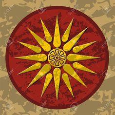 Sun Symbol Of King Philip Ii Of Macedon ile ilgili görsel sonucu