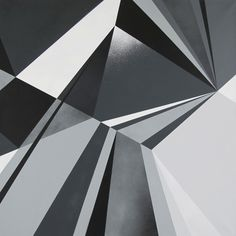 Portland, ME based graphic artist Matt W. Moore recently returned from Moscow, Russia, where he exhibited his work at Sretenka Design Week. Easy Canvas Art, Canvas Ideas, Geometric Sculpture, Composition Design, Optical Illusions, Textures Patterns, Painting Inspiration, Geometry, Abstract Art