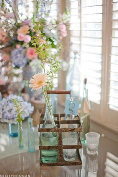 Rustic Vintage Style Wedding Inspiration - Rustic Wedding Chic