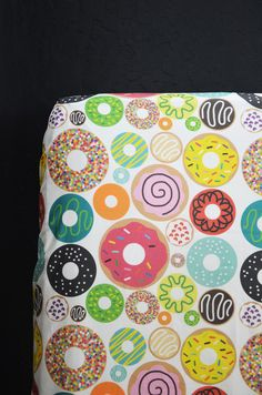 Donut crib sheet by Candy Kirby Designs.