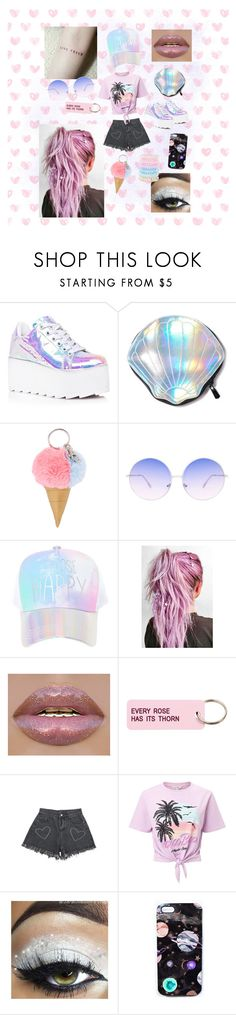 """""""Summer Concert"""" by gianna-powell ❤ liked on Polyvore featuring Y.R.U., Circus by Sam Edelman, Skinnydip, claire's, Various Projects, Miss Selfridge, Nikki Strange and Accessorize"""