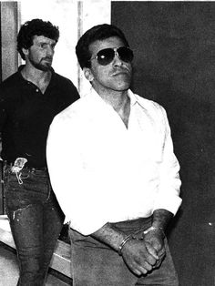 1983 arrest pic of current Lucchese acting boss Steven Crea.